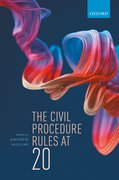 Cover for The Civil Procedure Rules at 20