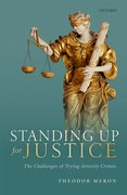 Cover for Standing Up for Justice - 9780198863434