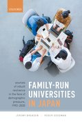 Cover for Family-Run Universities in Japan