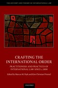 Cover for Crafting the International Order