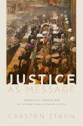 Cover for Justice as Message