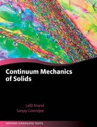 Cover for Continuum Mechanics of Solids