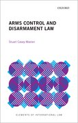 Cover for Arms Control and Disarmament Law