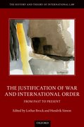 Cover for The Justification of War and International Order