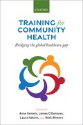 Cover for Training for Community Health