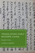 Cover for Translating Early Modern China
