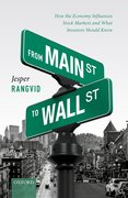 Cover for From Main Street to Wall Street - 9780198866404
