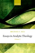 Cover for Essays in Analytic Theology
