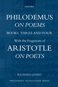 Cover for Philodemus, On Poems, Books 3-4