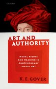 Cover for Art and Authority
