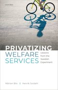 Cover for Privatizing Welfare Services