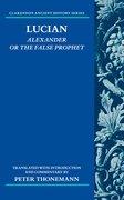 Cover for Lucian: Alexander Or The False Prophet