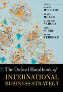 Cover for The Oxford Handbook of International Business Strategy