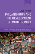 Cover for Philanthropy and the Development of Modern India