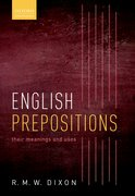 Cover for English Prepositions