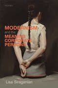 Cover for Modernism and the Meaning of Corporate Persons