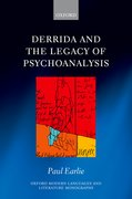Cover for Derrida and the Legacy of Psychoanalysis