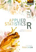 Cover for Applied Statistics with R