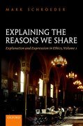 Cover for Explaining the Reasons We Share