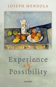 Cover for Experience and Possibility