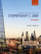 Cover for Mayson, French & Ryan on Company Law