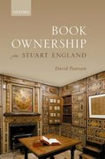 Cover for Book Ownership in Stuart England