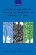 Cover for New Legal Approaches to Studying the Court of Justice