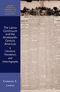 Cover for The Latino Continuum and the Nineteenth-Century Americas