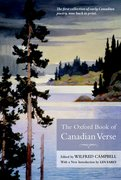 Cover for The Oxford Book of Canadian Verse