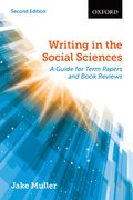 Cover for Writing in the Social Sciences