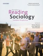 Cover for Reading Sociology