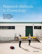 Cover for Research Methods in Kinesiology