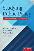 Cover for Studying Public Policy