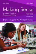 Cover for Making Sense in Engineering and the Physical Sciences