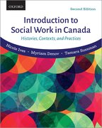 Cover for Introduction to Social Work in Canada - 9780199028818