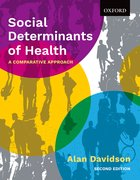 Cover for Social Determinants of Health - 9780199032204