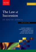 Cover for The Law of Succession in South Africa