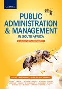 Cover for Public Administration & Management in South Africa: An Introduction