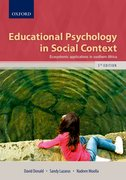 Cover for Educational Psychology in Social Context