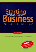 Cover for Starting Your Own Business in South Africa