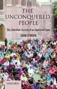 Cover for The Unconquered People: