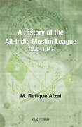 Cover for A History of the All-India Muslim League 1906-1947