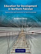 Cover for Education for Development in Northern Pakistan