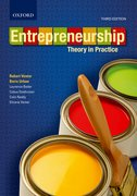 Cover for Entrepreneurship: Theory in Practice