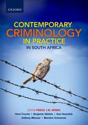 Cover for Contemporary Criminology in South Africa