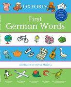 Cover for Oxford First German Words