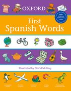 Cover for Oxford First Spanish Words