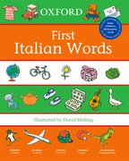 Cover for Oxford First Italian Words