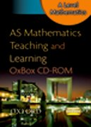 Cover for AS Mathematics Teaching & Learning OxBox CD-ROM