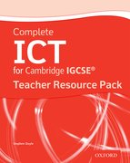 Cover for Complete ICT for IGCSERG Teacher Resource Pack